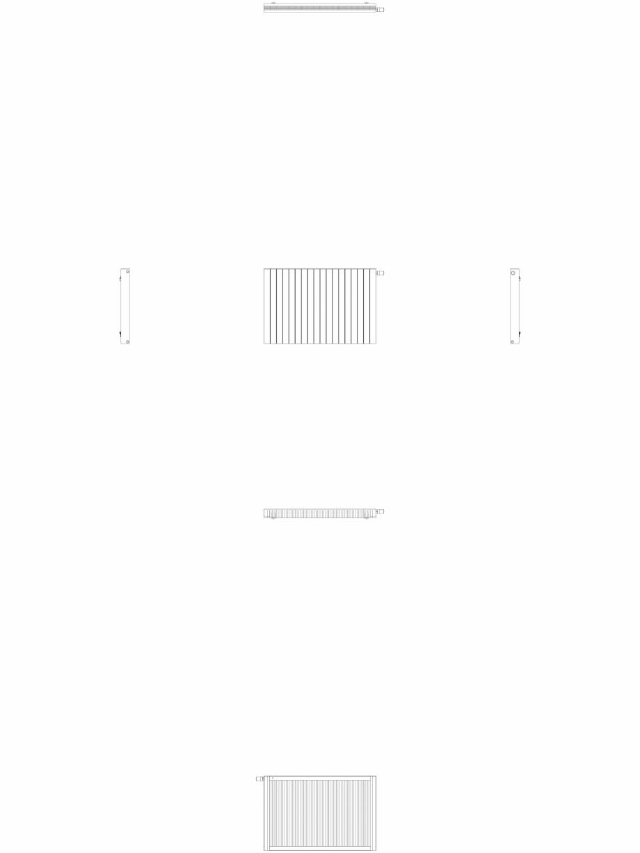 Pagina 1 - CAD-DWG Calorifer decorativ ZAROS H100 900x1350 - 2D VASCO Detaliu de produs