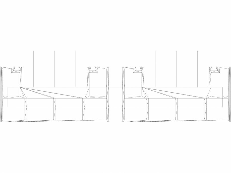 Pagina 1 - CAD-DWG Calorifer decorativ BEAMS 1800x320 - 3D VASCO Detaliu de produs