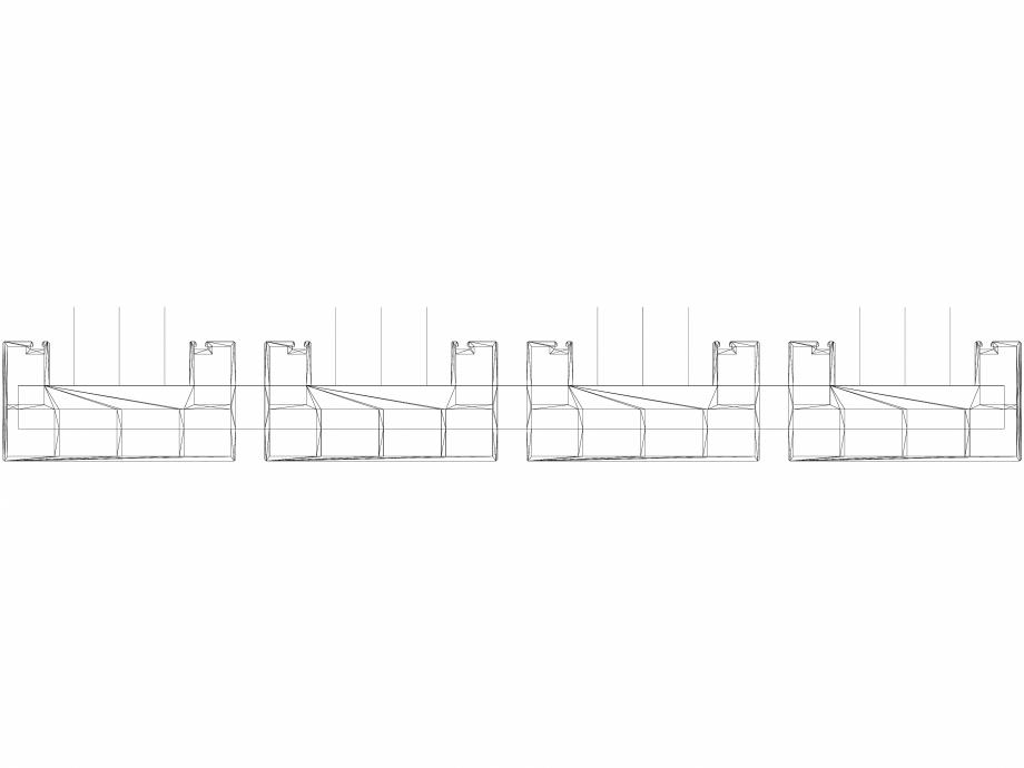 Pagina 1 - CAD-DWG Calorifer decorativ BEAMS 2200x660 - 3D VASCO Detaliu de produs
