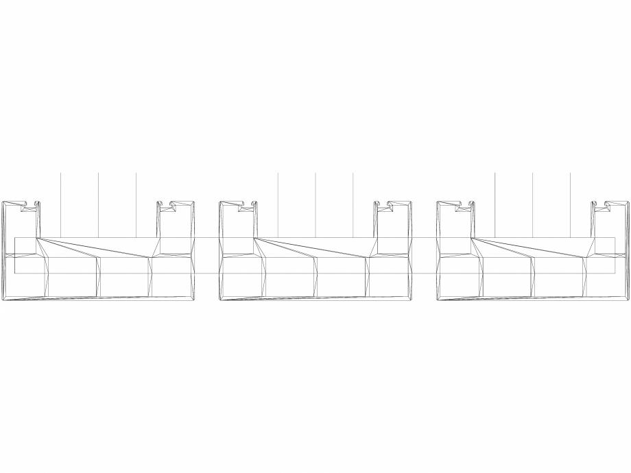 Pagina 1 - CAD-DWG Calorifer decorativ BEAMS 1800x490 - 3D VASCO Detaliu de produs