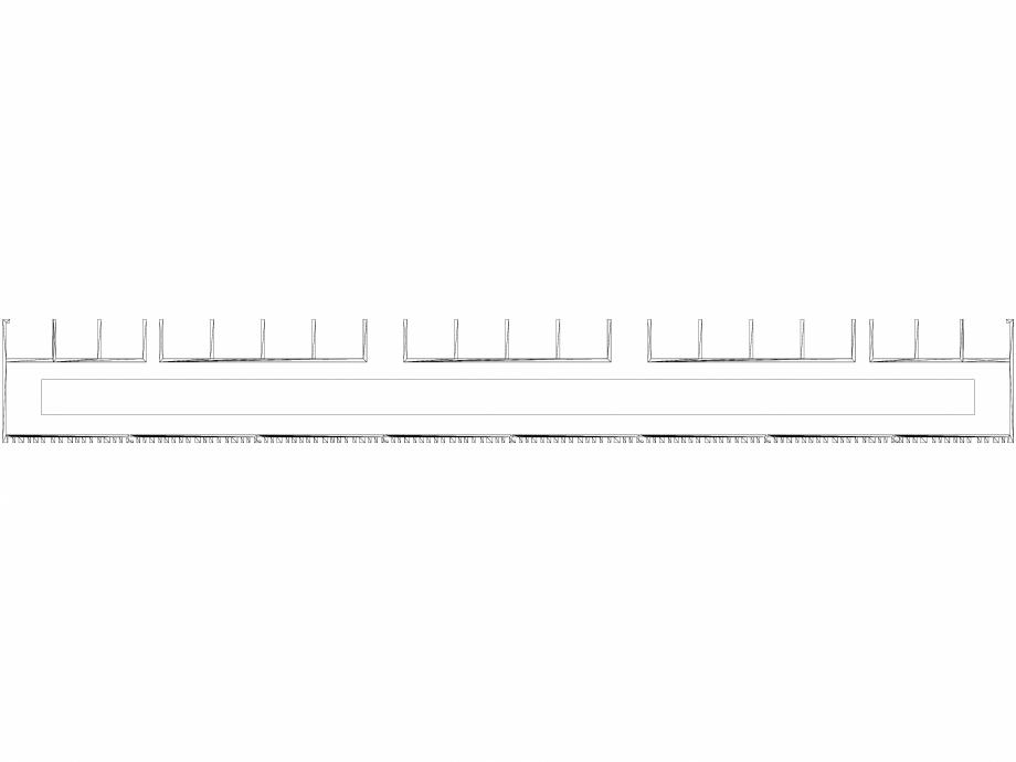 Pagina 1 - CAD-DWG Calorifer decorativ BRYCE PLUS 2000x600 - 3D VASCO Detaliu de produs BRYCE...