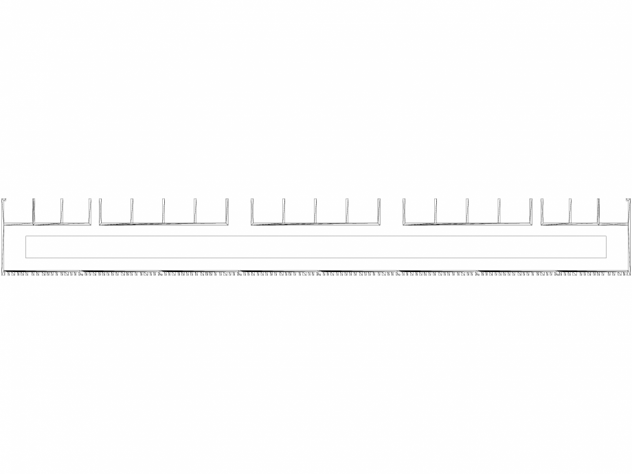 Pagina 1 - CAD-DWG Calorifer decorativ BRYCE PLUS 1800x600 - 3D VASCO Detaliu de produs BRYCE...