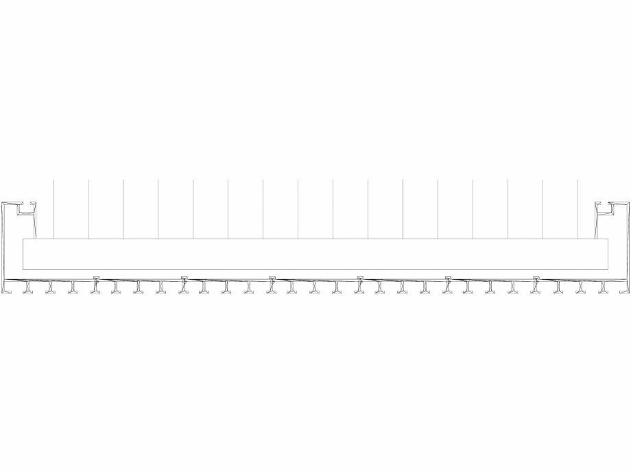 Pagina 1 - CAD-DWG Calorifer decorativ CANYON 1800x530 - 3D VASCO Detaliu de produs