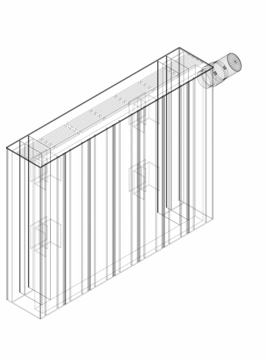 Pagina 1 - CAD-DWG Calorifer decorativ ZAROS H100 400x525 - 3D VASCO Detaliu de produs