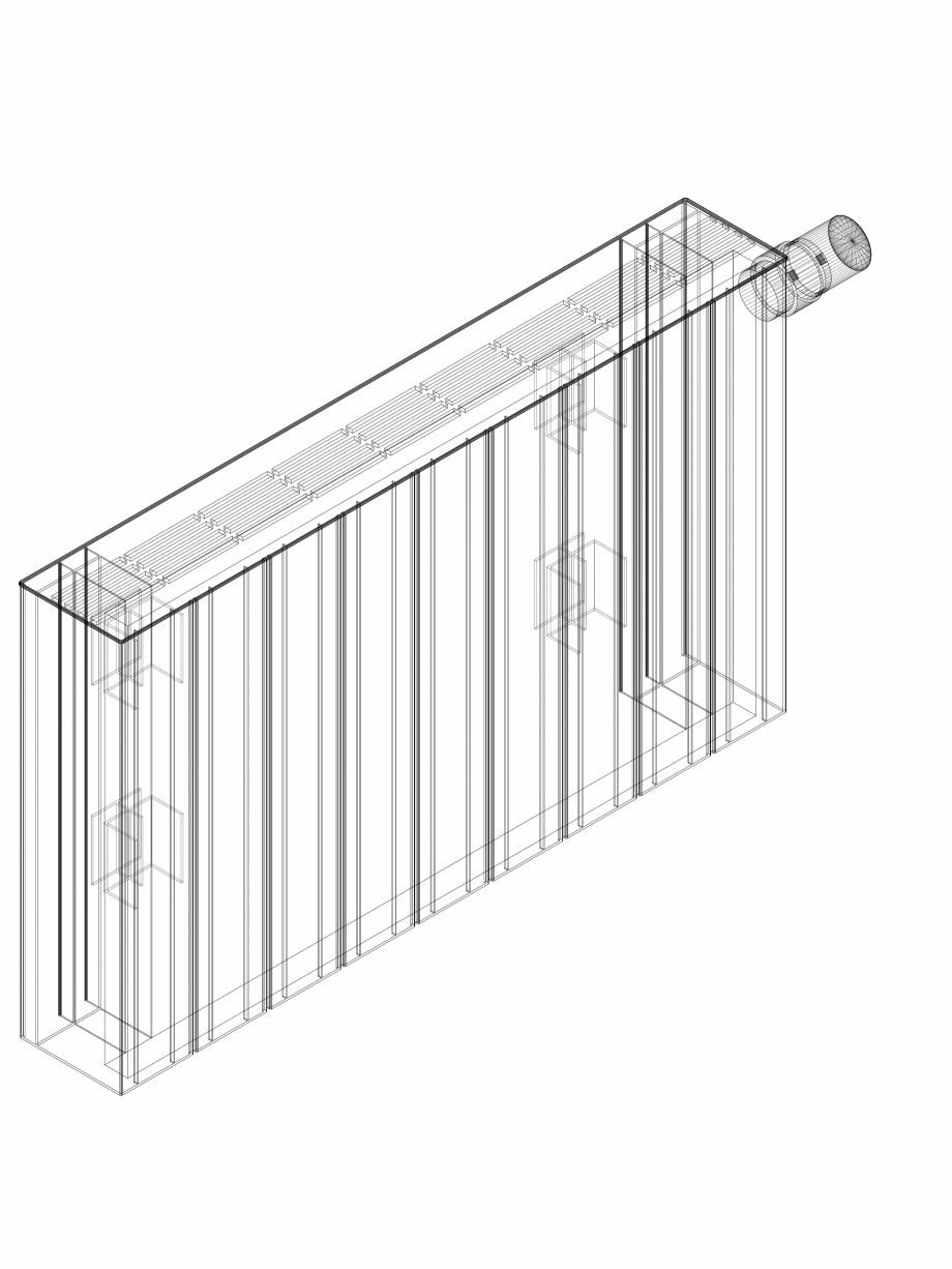 Pagina 1 - CAD-DWG Calorifer decorativ ZAROS H100 400x675 - 3D VASCO Detaliu de produs