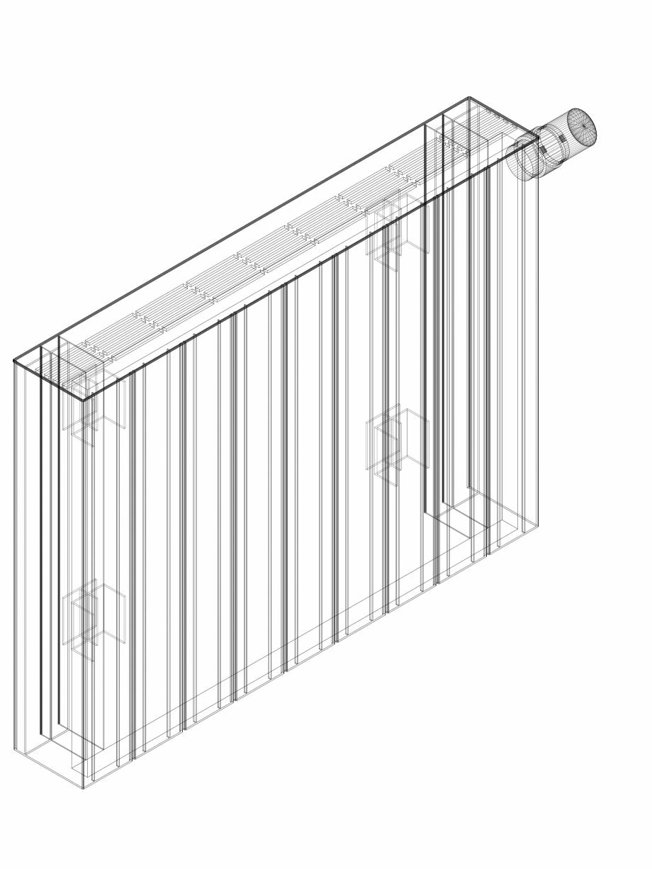 Pagina 1 - CAD-DWG Calorifer decorativ ZAROS H100 500x675 - 3D VASCO Detaliu de produs