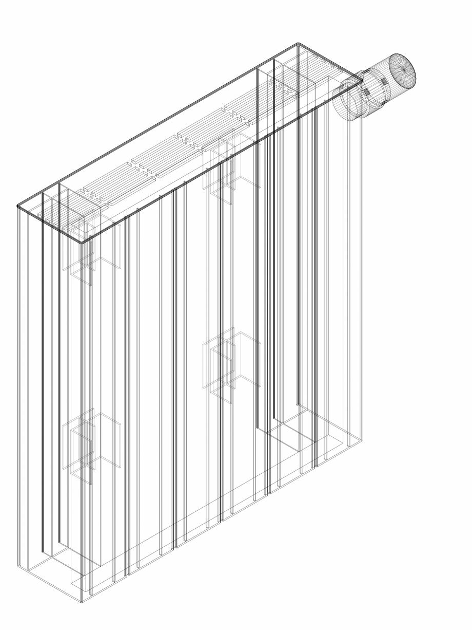 Pagina 1 - CAD-DWG Calorifer decorativ ZAROS H100 500x450 - 3D VASCO Detaliu de produs