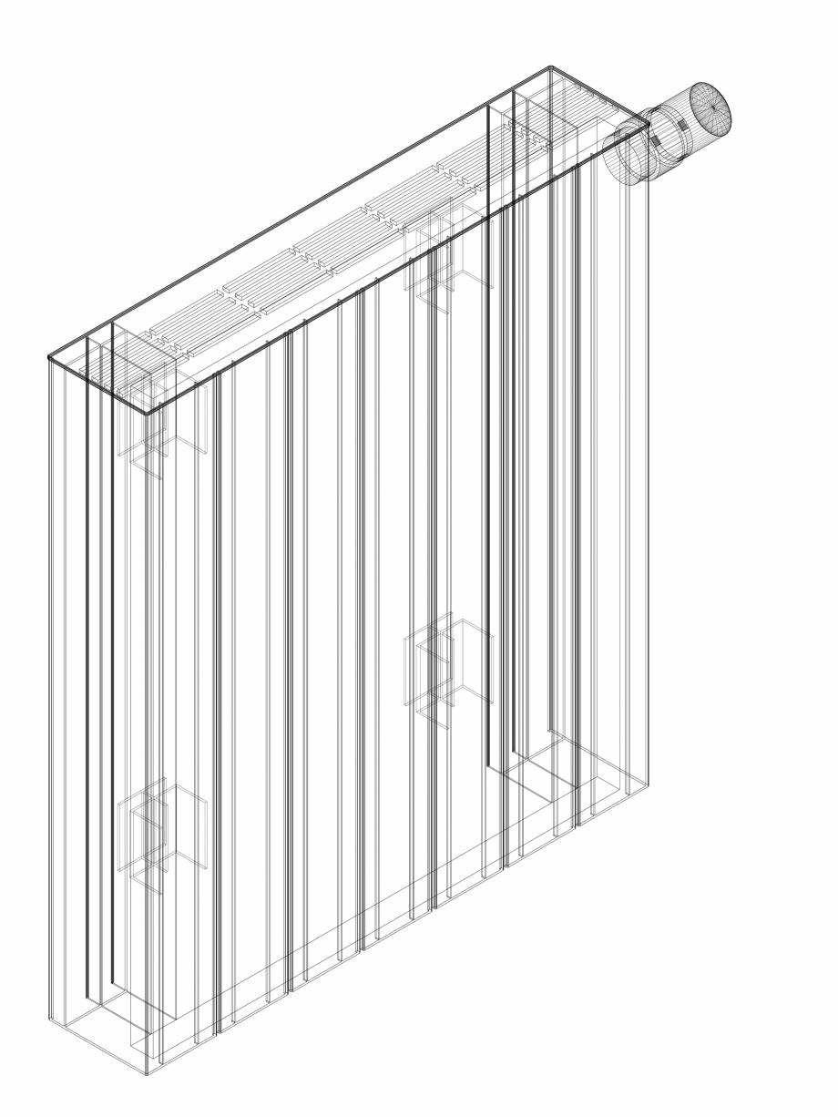 Pagina 1 - CAD-DWG Calorifer decorativ ZAROS H100 600x525 - 3D VASCO Detaliu de produs
