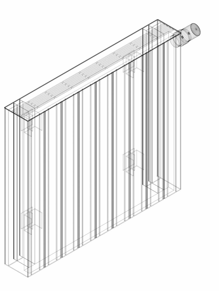 Pagina 1 - CAD-DWG Calorifer decorativ ZAROS H100 600x675 - 3D VASCO Detaliu de produs