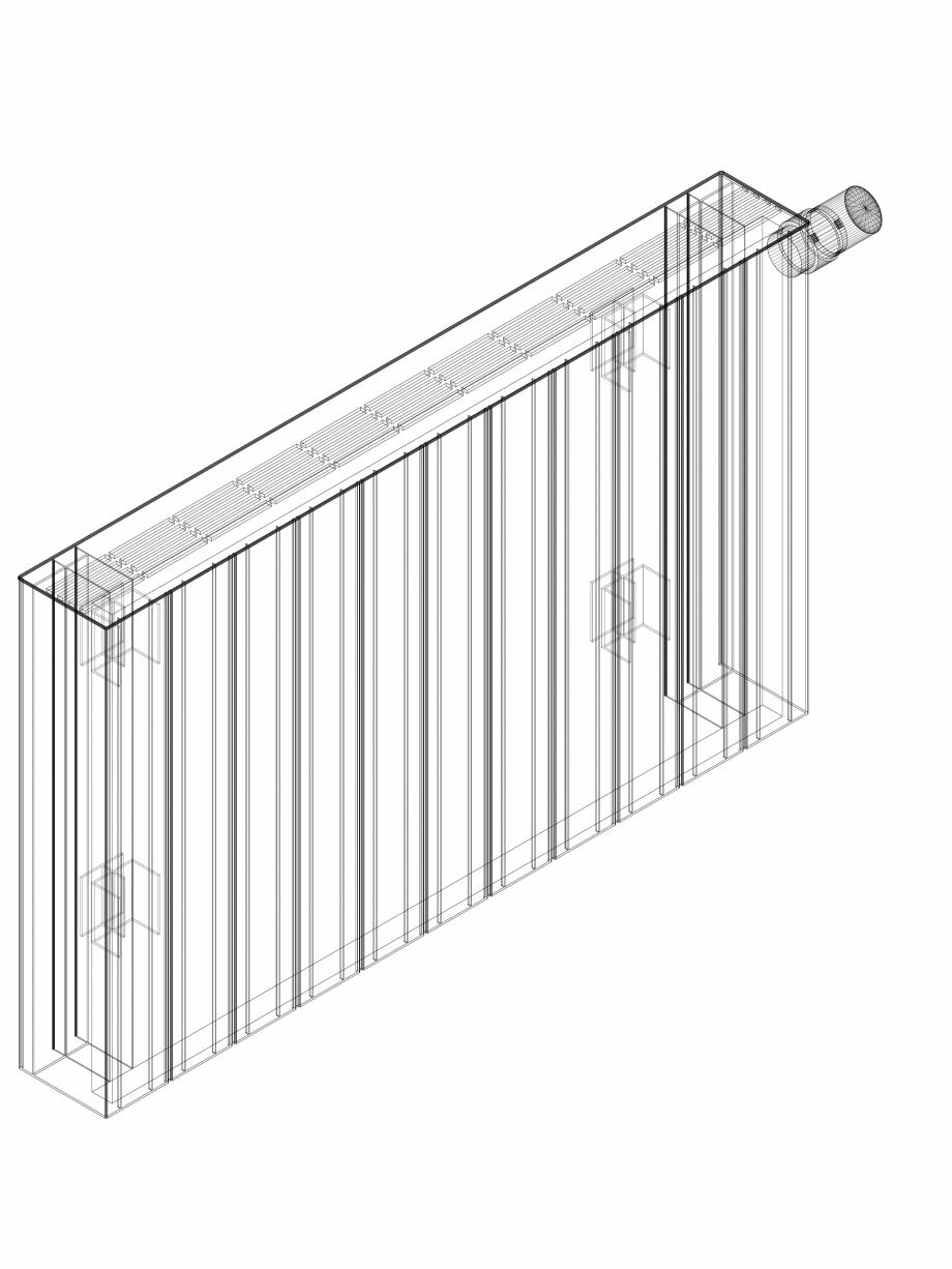 Pagina 1 - CAD-DWG Calorifer decorativ ZAROS H100 500x825 - 3D VASCO Detaliu de produs