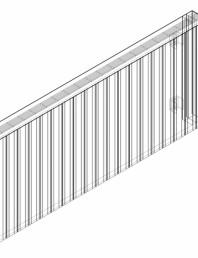 Calorifer decorativ ZAROS H100 600x1500 - 3D