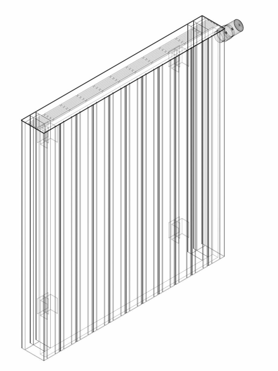 Pagina 1 - CAD-DWG Calorifer decorativ ZAROS H100 900x825 - 3D VASCO Detaliu de produs