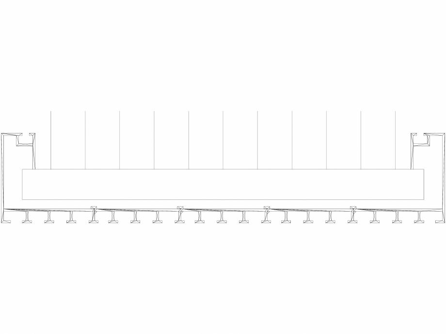 Pagina 1 - CAD-DWG Calorifer decorativ CANYON 1800x380 - 3D VASCO Detaliu de produs