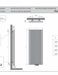 Manual de montaj calorifer decorativ