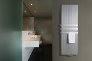 Calorifere decorative din aluminiu Caloriferele decorative din aluminiu Vasco, pot fi montate cu usurinta pe orice perete, necesita un spatiu redus si sunt usor de instalat. Aluminiul este anticoroziv, usor de intretinut.
