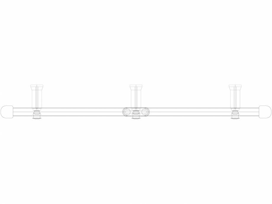 Pagina 1 - CAD-DWG Calorifer decorativ IRIS-HDM 690-750 3D VASCO Detaliu de produs