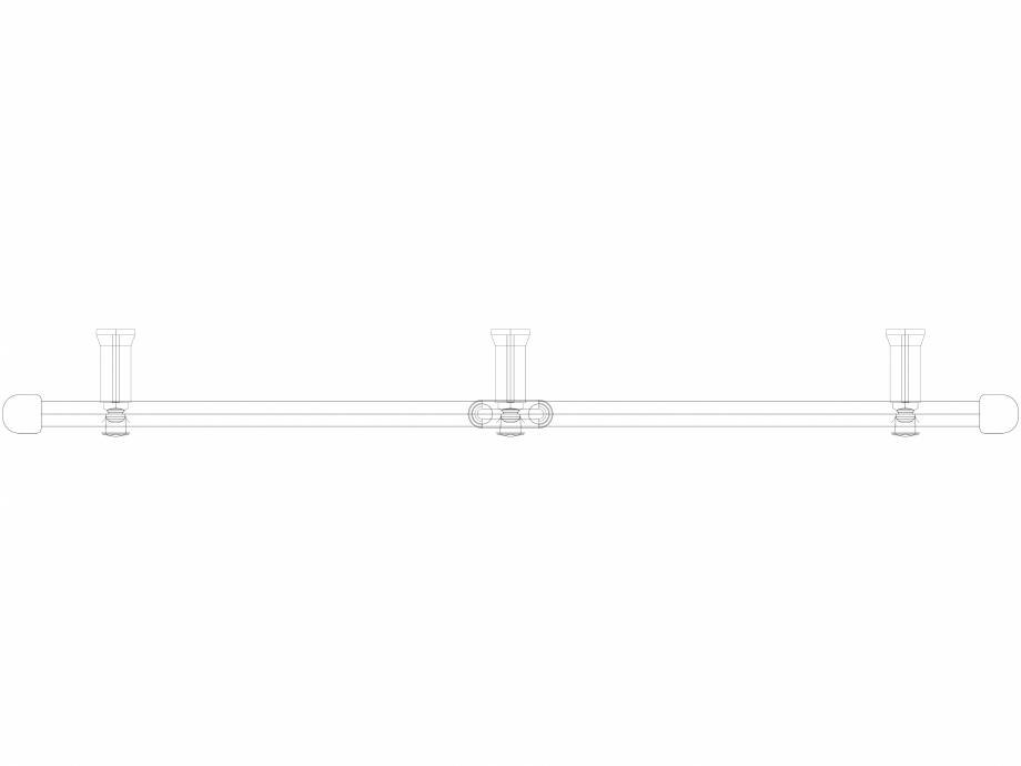 Pagina 1 - CAD-DWG Calorifer decorativ IRIS-HDM 690-900 3D VASCO Detaliu de produs