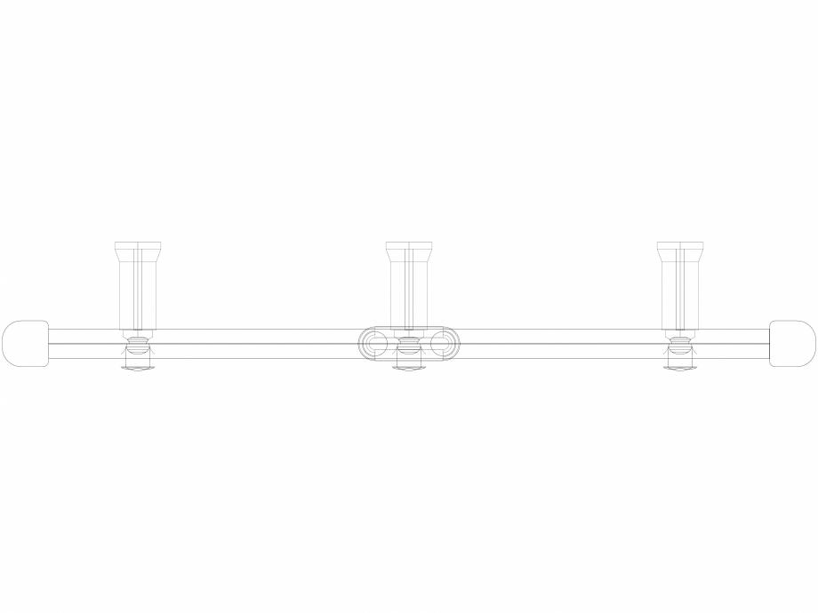 Pagina 1 - CAD-DWG Calorifer decorativ IRIS-HDM 1338-600 3D VASCO Detaliu de produs