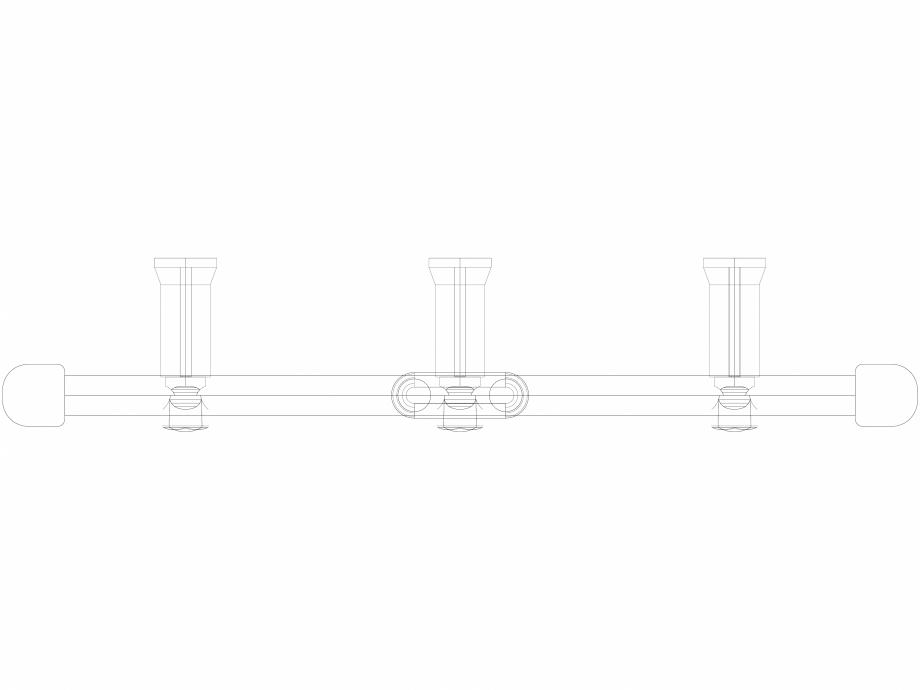 Pagina 1 - CAD-DWG Calorifer decorativ IRIS-HDM 1338-500 3D VASCO Detaliu de produs