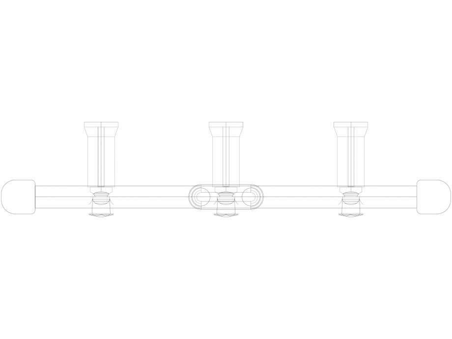 Pagina 1 - CAD-DWG Calorifer decorativ IRIS-HDM 1734-450 3D VASCO Detaliu de produs