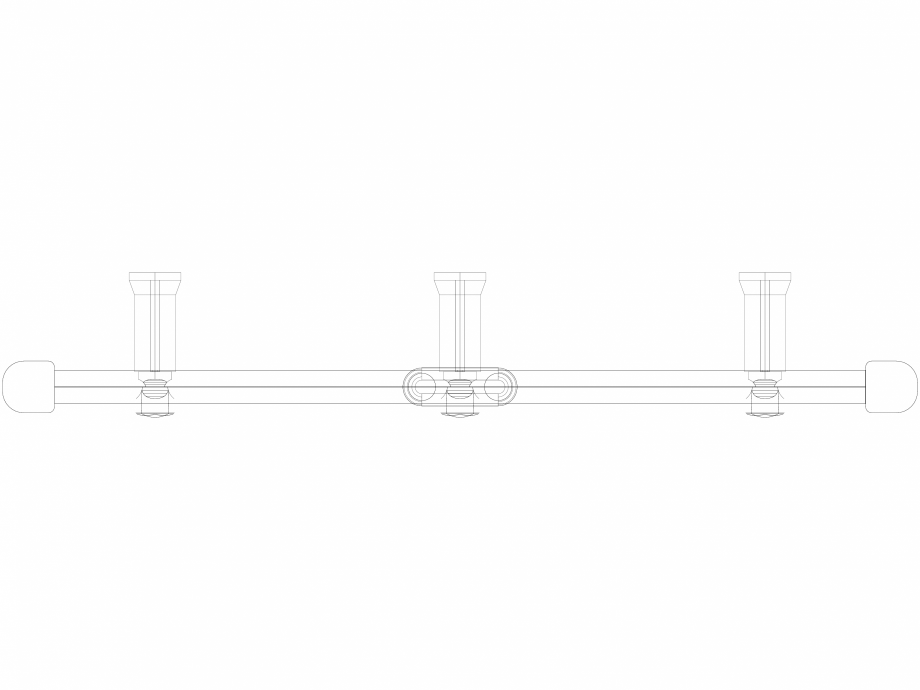 Pagina 1 - CAD-DWG Calorifer decorativ IRIS-HDM 2022-600 3D VASCO Detaliu de produs
