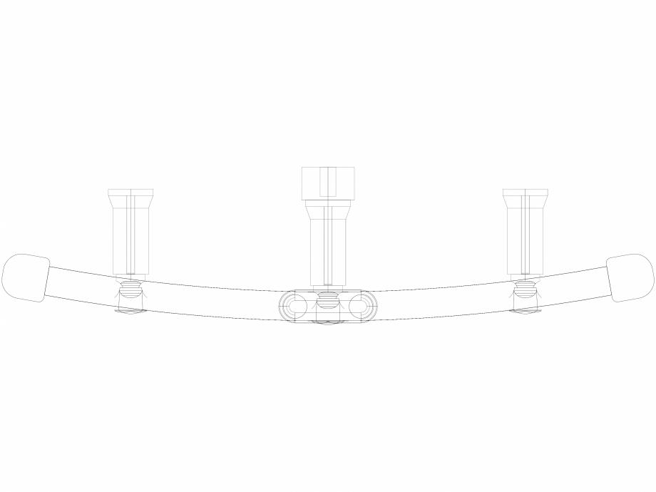 Pagina 1 - CAD-DWG Calorifer decorativ IRIS-HDRM 1122-500 3D VASCO Detaliu de produs