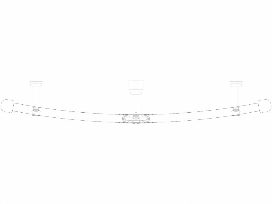 Pagina 1 - CAD-DWG Calorifer decorativ IRIS-HDRM 690-750 3D VASCO Detaliu de produs