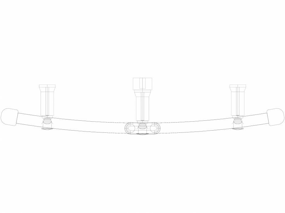 Pagina 1 - CAD-DWG Calorifer decorativ IRIS-HDRM 1122-600 3D VASCO Detaliu de produs