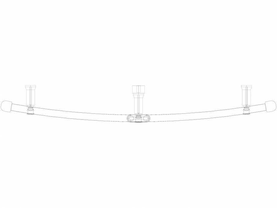 Pagina 1 - CAD-DWG Calorifer decorativ IRIS-HDRM 690-900 3D VASCO Detaliu de produs