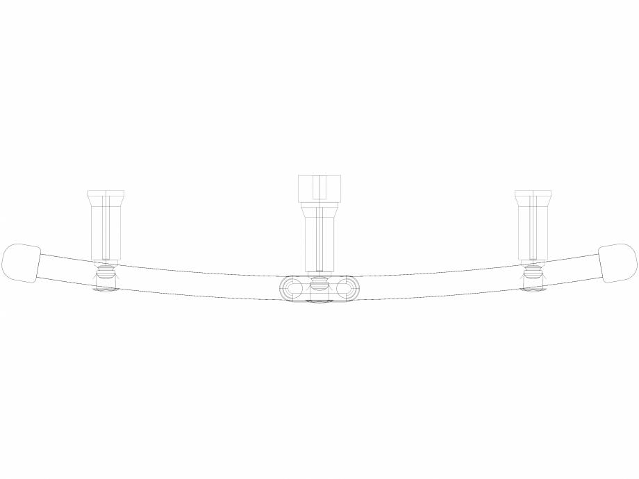 Pagina 1 - CAD-DWG Calorifer decorativ IRIS-HDRM 1734-600 3D VASCO Detaliu de produs