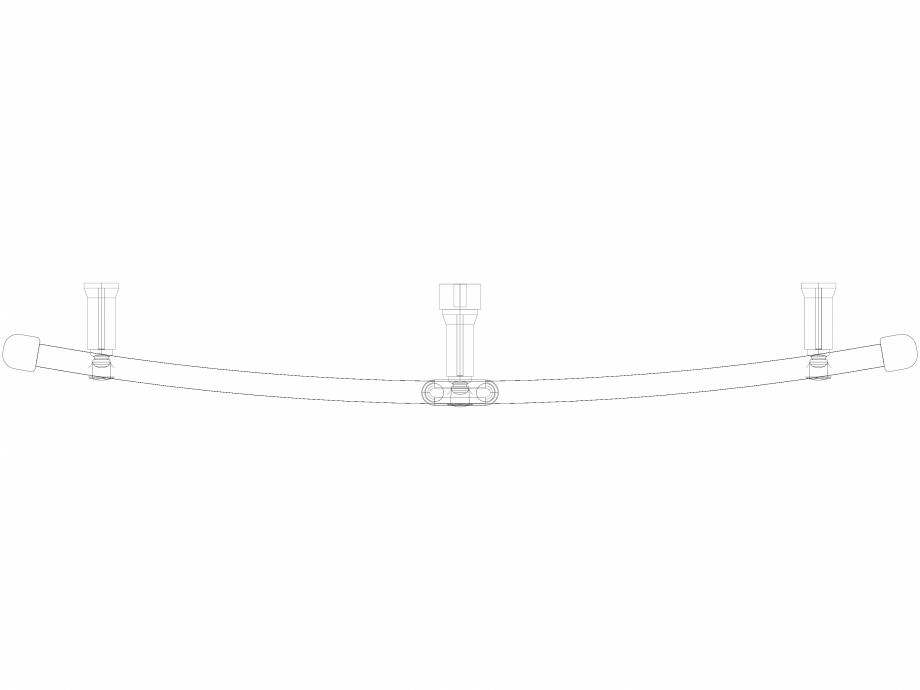 Pagina 1 - CAD-DWG Calorifer decorativ IRIS-HDRM 1734-900 3D VASCO Detaliu de produs