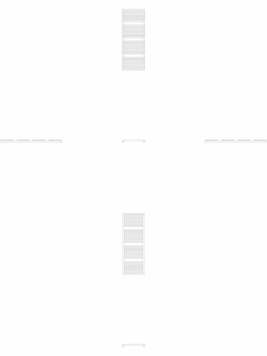 Pagina 1 - CAD-DWG Calorifer decorativ CARRE-CB 1375-500 2D VASCO Detaliu de produs