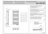 Manual montaj calorifere de baie portprosop VASCO