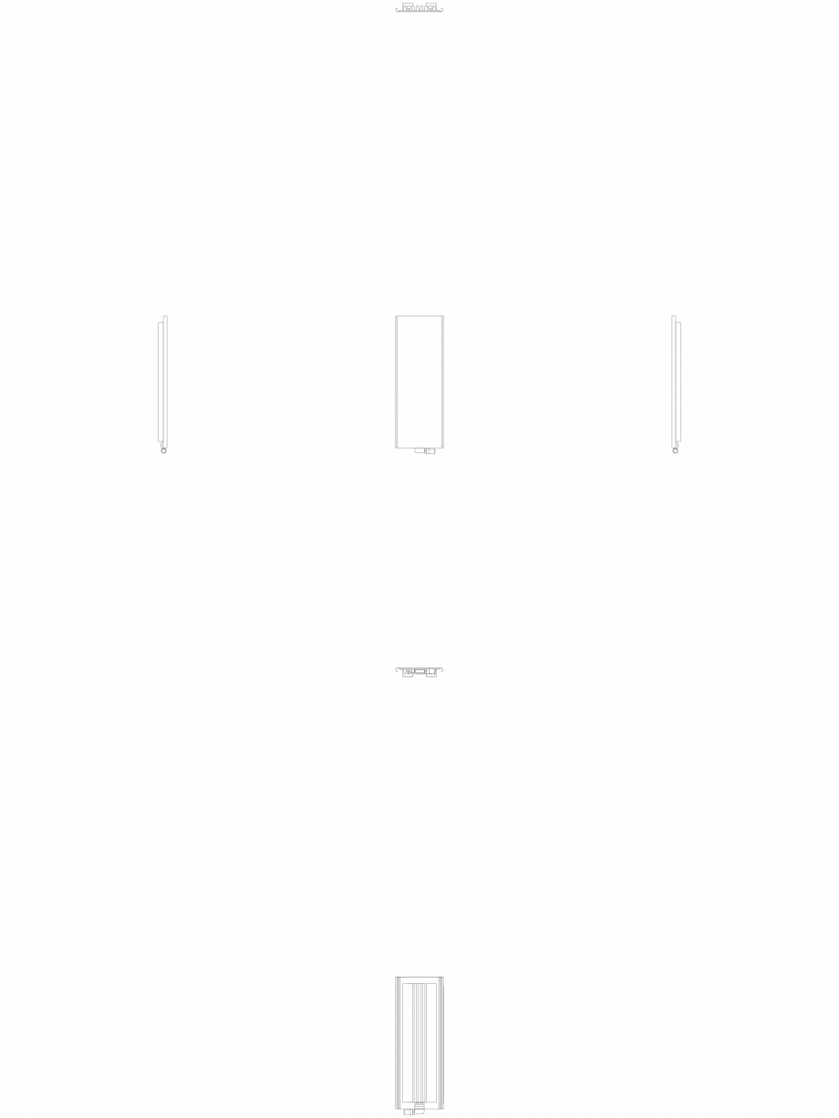 Pagina 1 - CAD-DWG calorifer_decorativ_NIVA_SOFT_NS1L1_1220_440_2d VASCO Detaliu de produs NIVA SOFT...