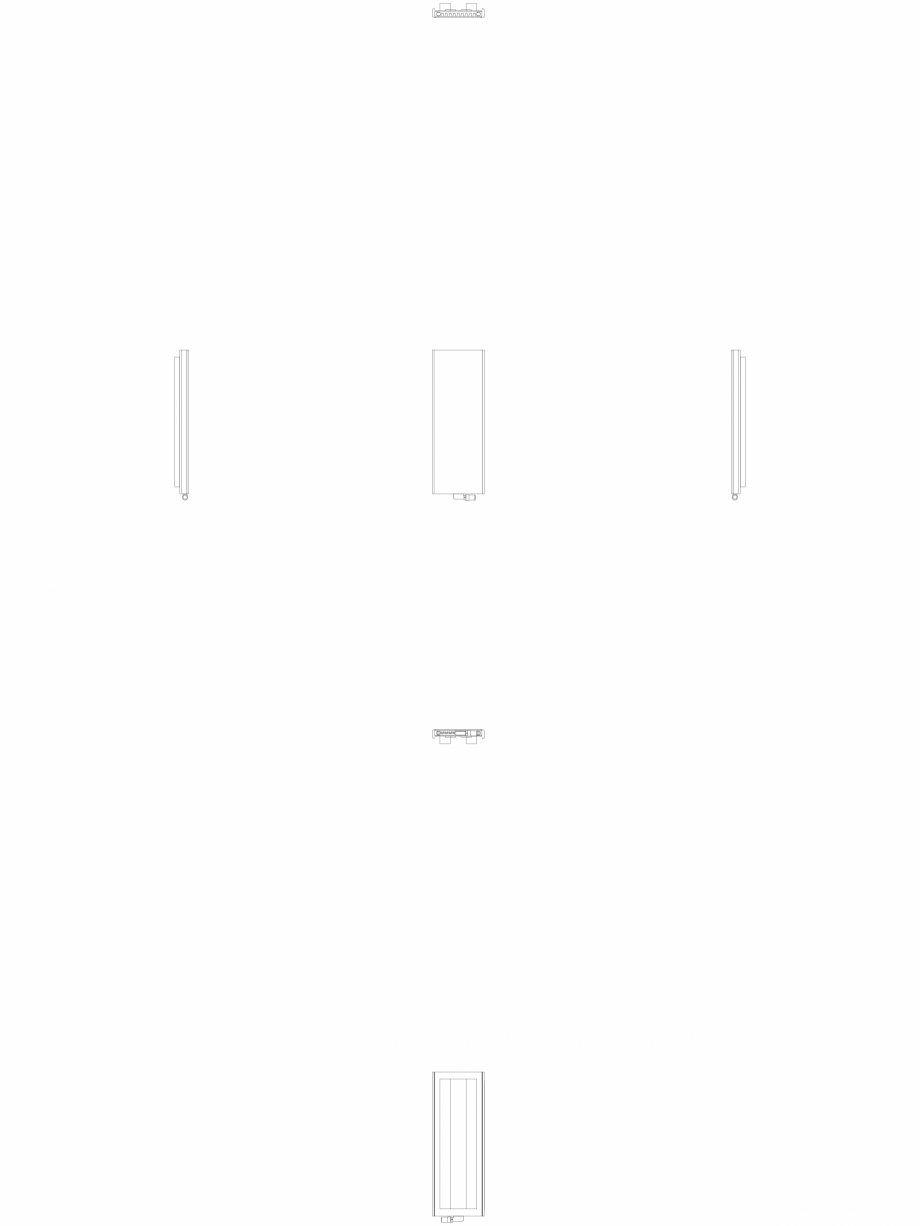 Pagina 1 - CAD-DWG calorifer_decorativ_NIVA_SOFT_NS2L1_1220_440_2d VASCO Detaliu de produs NIVA SOFT...