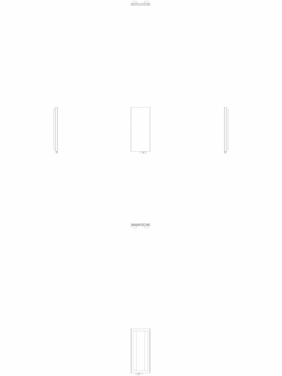 Pagina 1 - CAD-DWG calorifer_decorativ_NIVA_SOFT_NS2L1_1220_540_2d VASCO Detaliu de produs NIVA SOFT...