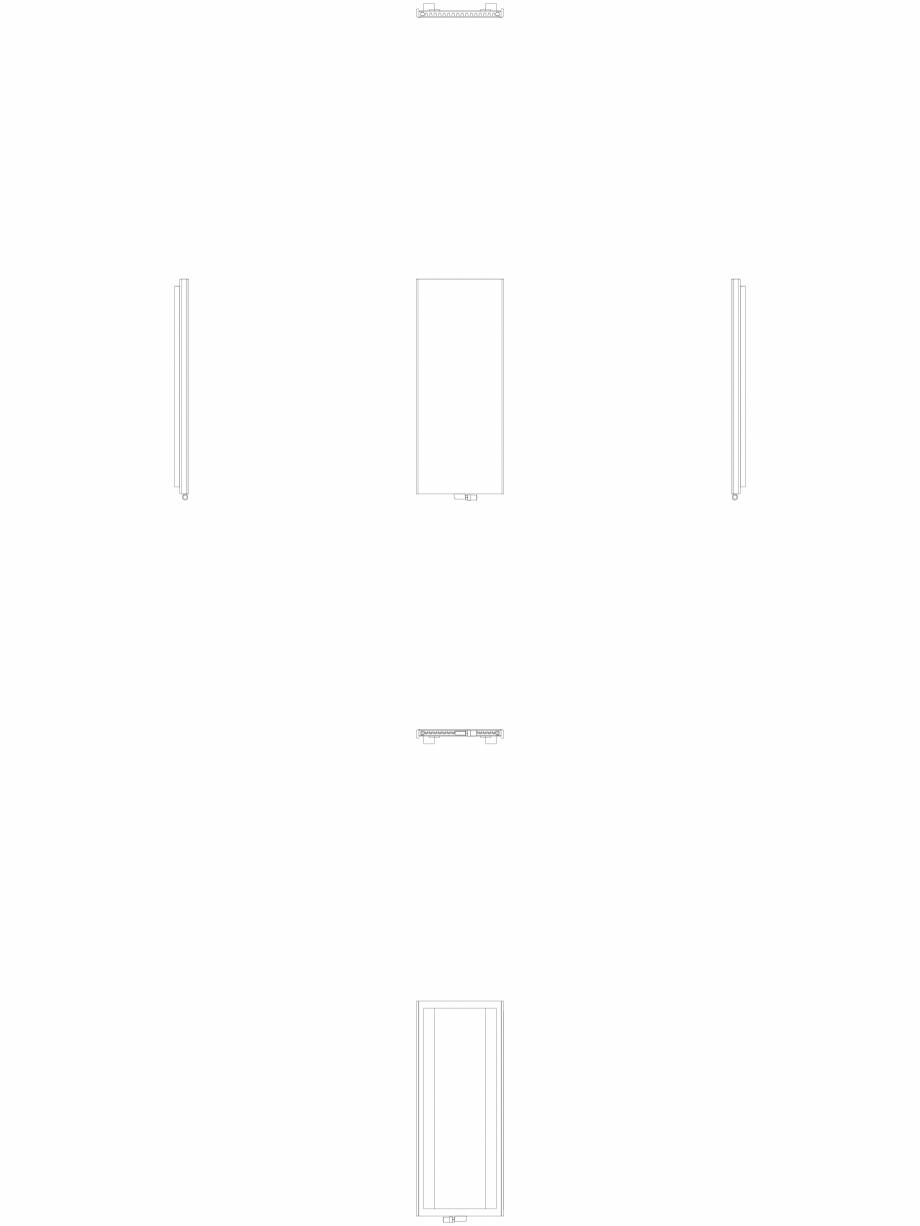 Pagina 1 - CAD-DWG calorifer_decorativ_NIVA_SOFT_NS2L1_1820_740_2d VASCO Detaliu de produs NIVA SOFT...
