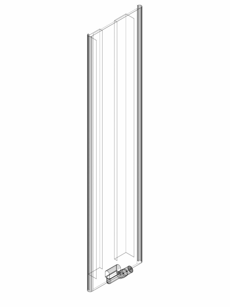 Pagina 1 - CAD-DWG calorifer_decorativ_NIVA SOFT_NS1L1_1820_440_3d VASCO Detaliu de produs