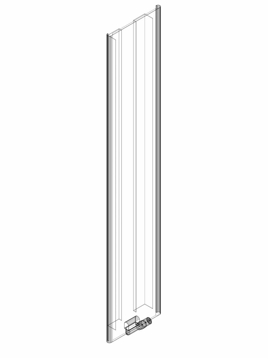 Pagina 1 - CAD-DWG calorifer_decorativ_NIVA SOFT_NS1L1_2220_440_3d VASCO Detaliu de produs