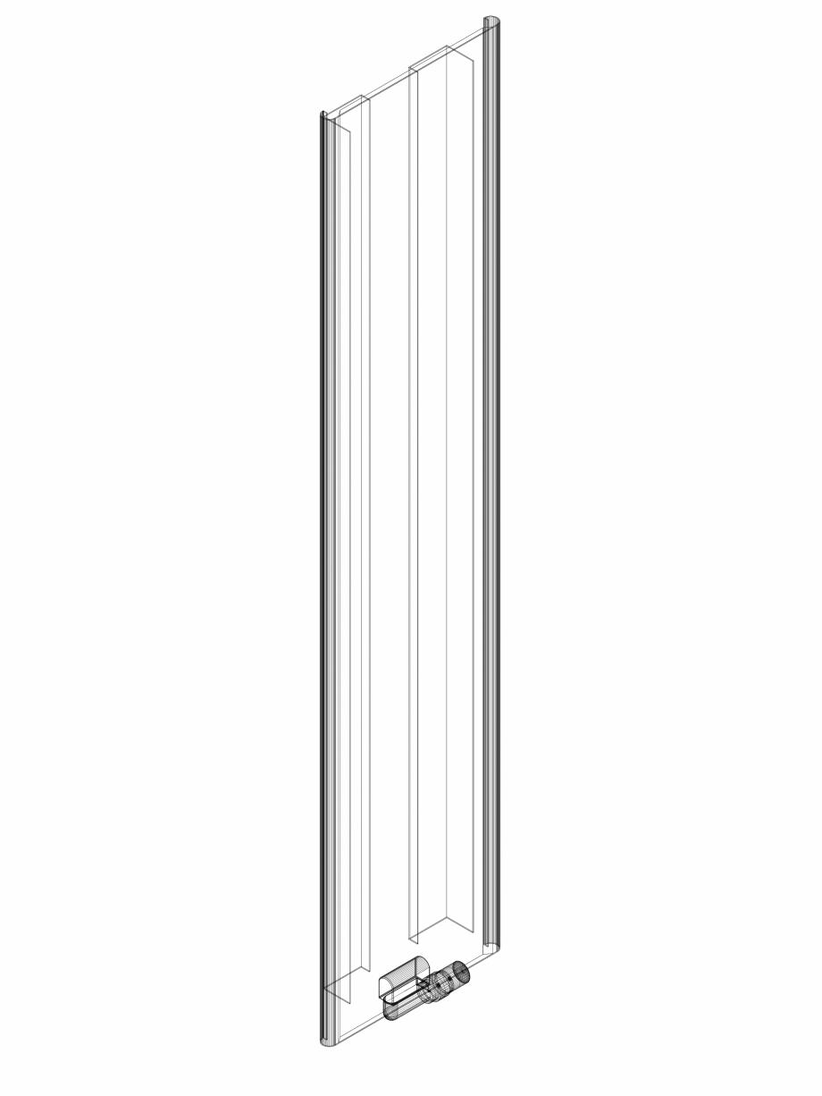 Pagina 1 - CAD-DWG calorifer_decorativ_NIVA SOFT_NS1L1_2020_440_3d VASCO Detaliu de produs