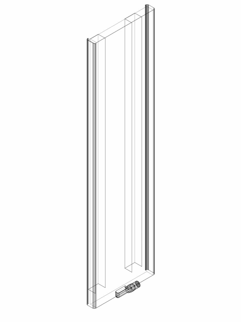 Pagina 1 - CAD-DWG calorifer_decorativ_NIVA SOFT_NS2L1_2020_540_3d VASCO Detaliu de produs