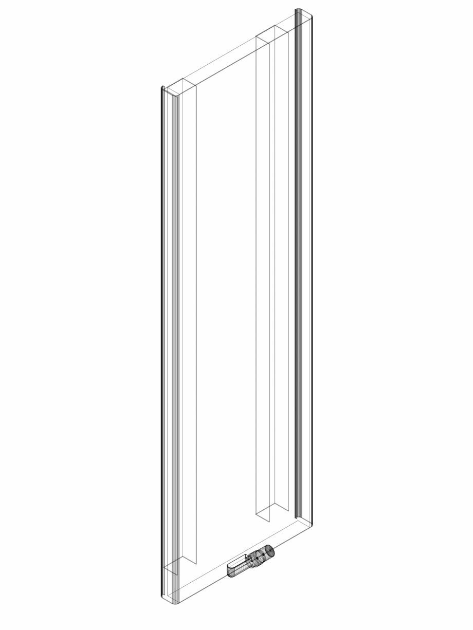 Pagina 1 - CAD-DWG calorifer_decorativ_NIVA SOFT_NS2L1_2020_640_3d VASCO Detaliu de produs