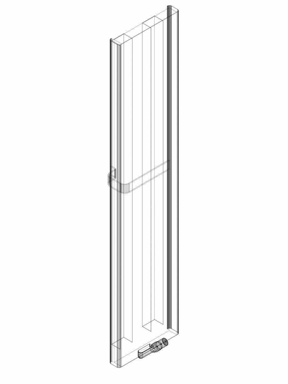 Pagina 1 - CAD-DWG calorifer_decorativ_NIVA SOFT_NS2L1_2020_440_3d VASCO Detaliu de produs