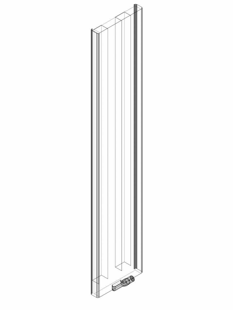 Pagina 1 - CAD-DWG calorifer_decorativ_NIVA SOFT_NS2L1_2220_440_3d VASCO Detaliu de produs