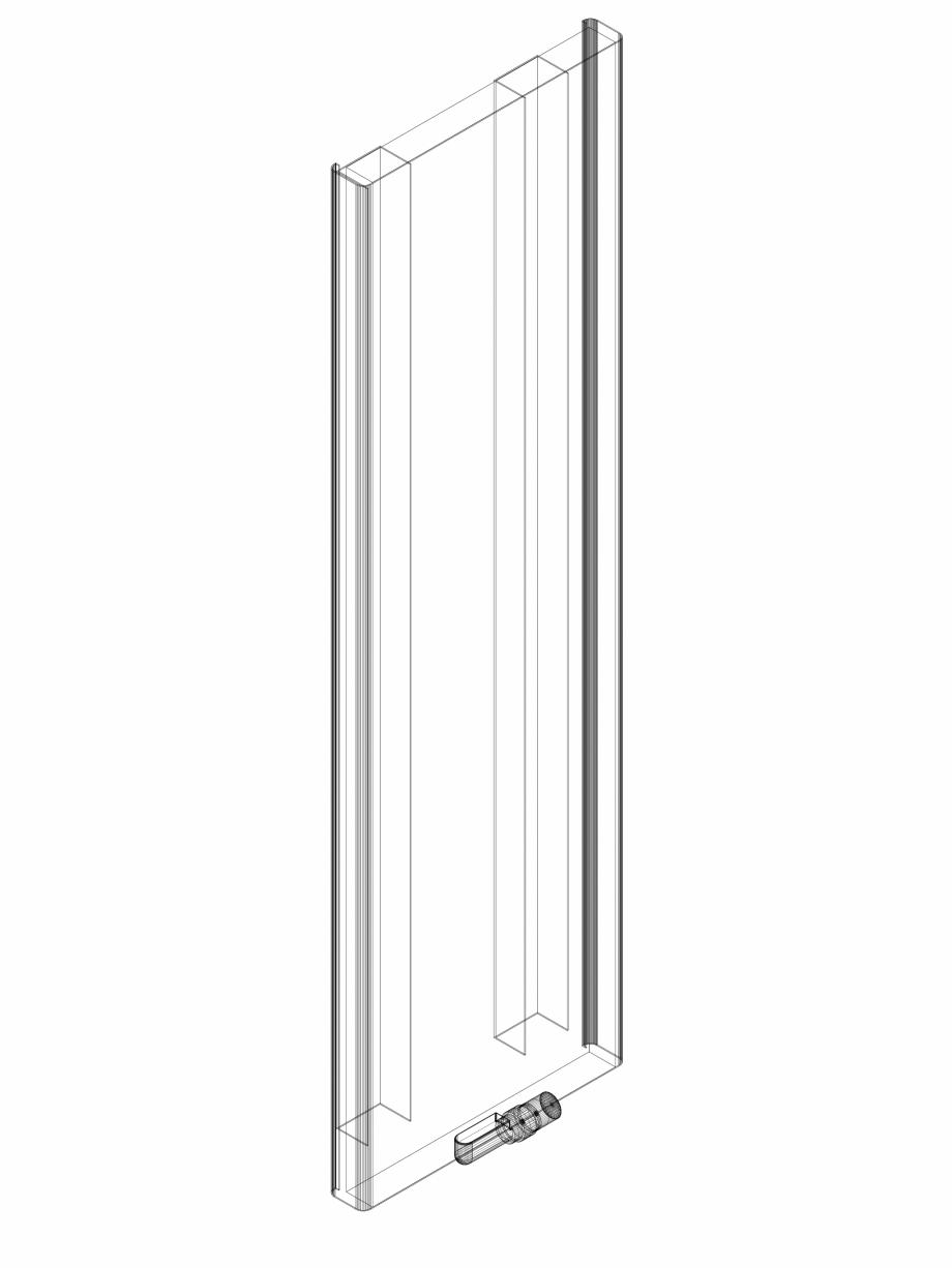 Pagina 1 - CAD-DWG calorifer_decorativ_NIVA SOFT_NS2L1_1820_440_3d VASCO Detaliu de produs