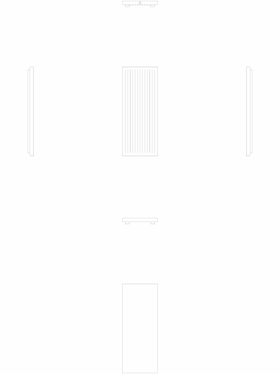Pagina 1 - CAD-DWG calorifer_decorativ_NIVA-N2L1_1820-720_2D VASCO Detaliu de produs NIVA VERTICAL