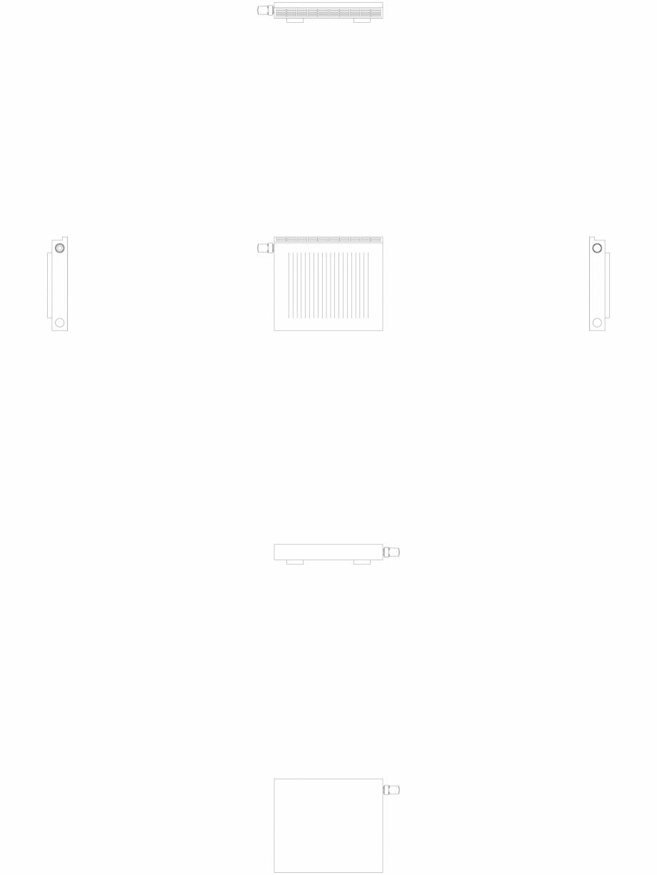 Pagina 1 - CAD-DWG calorifer_decorativ_NIVA-NH1L1_450-520_2D VASCO Detaliu de produs NIVA ORIZONTAL