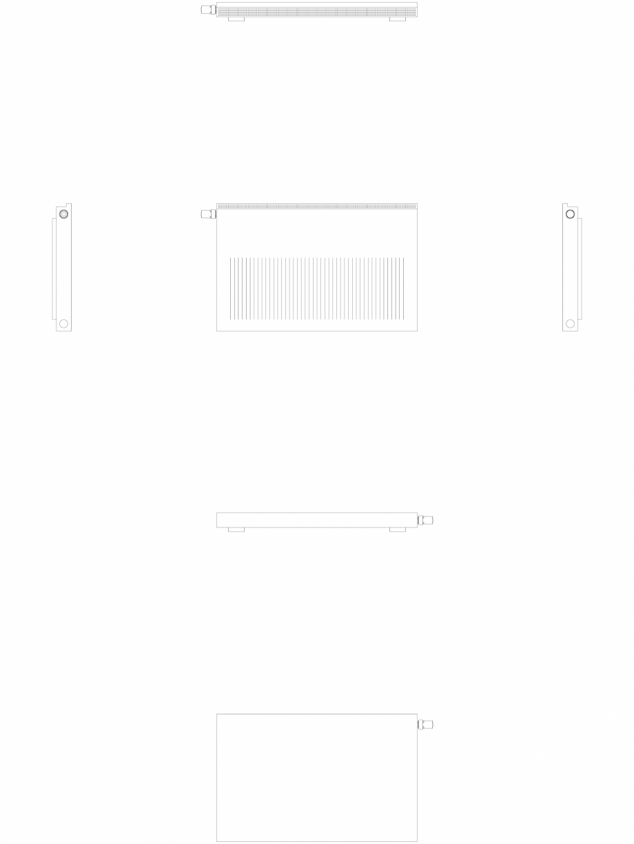 Pagina 1 - CAD-DWG calorifer_decorativ_NIVA-NH1L1_650-1020_2D VASCO Detaliu de produs NIVA ORIZONTAL...