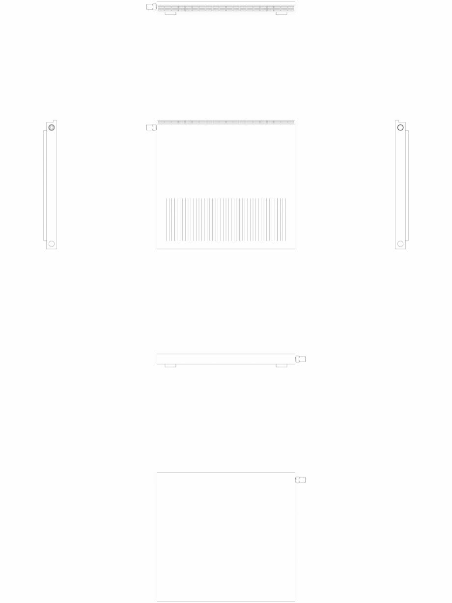 Pagina 1 - CAD-DWG calorifer_decorativ_NIVA-NH1L1_950-1020_2D VASCO Detaliu de produs NIVA ORIZONTAL...