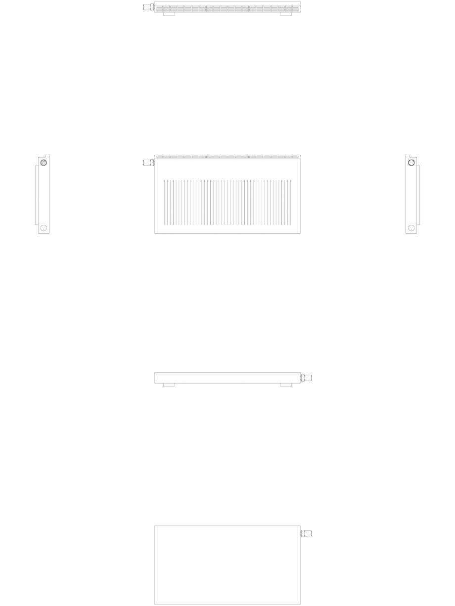 Pagina 1 - CAD-DWG calorifer_decorativ_NIVA-NH1L1_550-1020_2D VASCO Detaliu de produs NIVA ORIZONTAL...